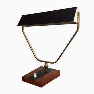 Vintage Messing Tischlampe von Kaiser Idell, 1950er