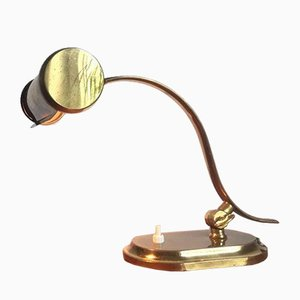 Brass Piano Lamp from Kaiser, 1950s