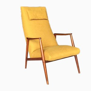 Danish Teak Lounge Chair by Hartmut Lohmeyer, 1950s