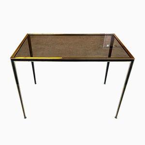 Golden Black Coffee Table, 1950s