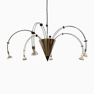 Postmodern Tyr Pendant Lamp by Hullmann & Bartels, 1980s