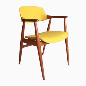 Deutscher Teak Captain's Chair, 1960er