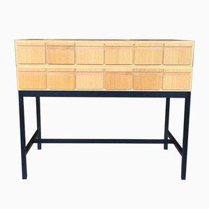 Oak Register Cabinet, 1960s