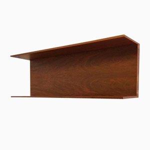 Small Rosewood Shelf by Walter Wirtz for Wilhelm Renz, 1950s
