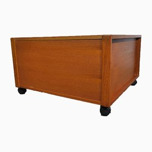 Danish Teak Washing Box, 1970s
