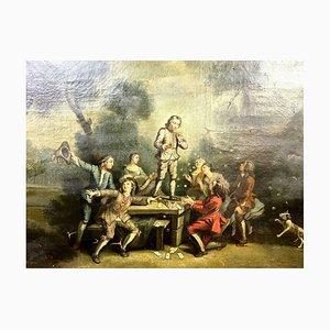 Gemälde, 1760er, Öl auf Leinwand