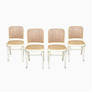 Vintage No. 811 Side Chairs by Josef Hoffmann for Thonet, Set of 4