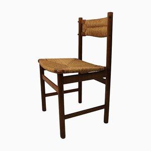 Chaises de Salon Vintage en Frêne, 1950s, Set de 4