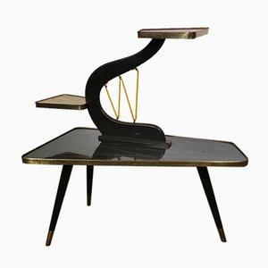 Nierenförmiger Beistelltisch oder Pflanzentisch, 1950er