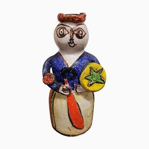 Statua Giovanni De Simone, ceramica, anni '60