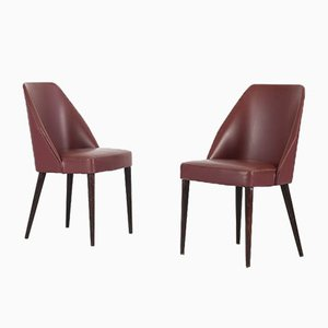 Model 696 Side Chairs by Figli di Amedeo Cassina for Cassina, 1958, Set of 2
