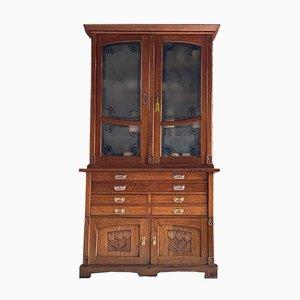 Art Nouveau Apothecary Cabinet, 1930s