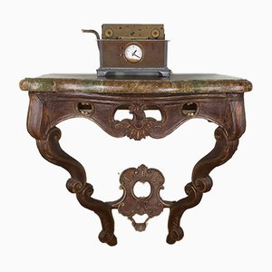 Antique German Church Console Table, 19th Century