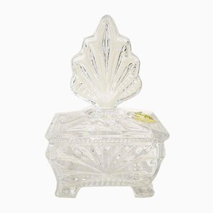 Jewelry Box from Echt Bleikristall, 1960s