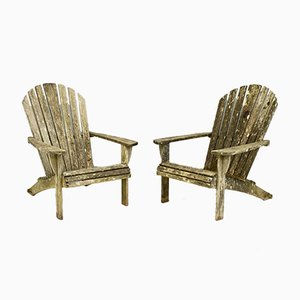 Garden Chairs, 1970s, Set of 2