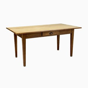 Stripped Oak Top Dining or Writing Table