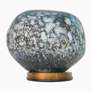 Lunar Rock Murano Glass Table Lamp, 1970s