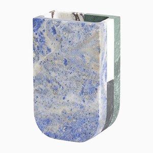 Multi-Colored Marble Piero Vase by Arthur Arbesser for MMairo