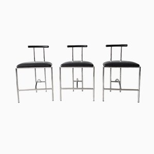 Tokyo Chairs Bieffeplast by Rodney Kinsman for Padova Italy, 1985, Set of 3