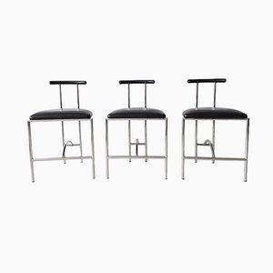 Tokyo Stühle Bieffeplast von Rodney Kinsman für Padova Italy, 1985, 3er Set