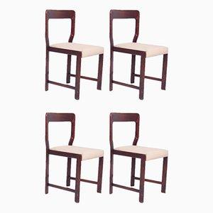 Mid-Century Esszimmerstühle von Mario Sabot, 4er Set