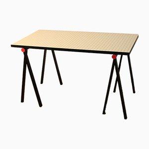 Laminat Tisch im Stil von Ettore Sottsass für Zanotta