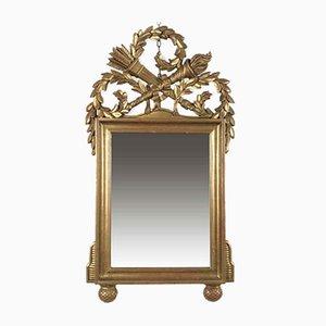 Empire Style Golden Mirror, 1980s