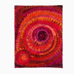 Seashell Carpet by Marjatta Metsovaara for Oy Finnrya, 1962