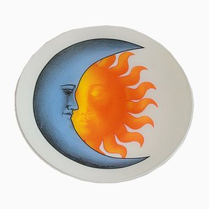 Vintage Soleluna Ceiling Lamp by Piero Fornasetti, Italy, 1980s