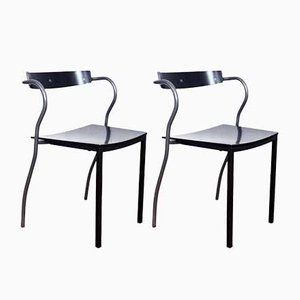 Vintage Rio Dining Chairs by Pascal Mourgue for Artelano, Set of 2