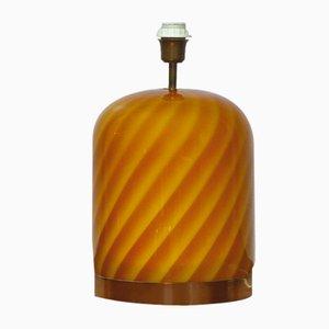 Lampe de Bureau en Verre Murano par Tommaso Barbi, 1970s