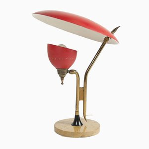 Mid-Century Table Lamp by Oscar Torlasco for Lumen Milano, Italy, 1950s