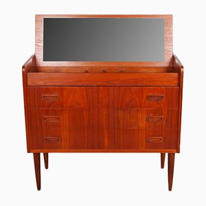Mid-Century Teak Dressing Table With Drawers