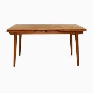 Tavolo da pranzo AT31 di Hans J. Wegner, anni '60