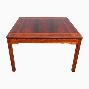 Scandinavian Square Rosewood Coffee Table by Marron for Alberts Tibro, 1972