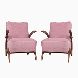 Armchairs by Jindřich Halabala for UP Závody, 1920s, Set of 2