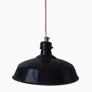 Industrial Ceiling Lamp, 1930s