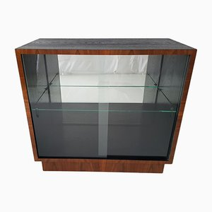 Small Modernist Glass Bookcase or Display Cabinet, 1930s