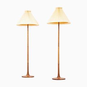 Dänische Stehlampen, 2er Set