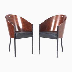 Costes Dining Chairs by Philippe Starck for Driade, 2000s, Set of 2