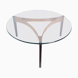 Rosewood Coffee Table by Sven Ellekaer for C. Linneberg, 1960s