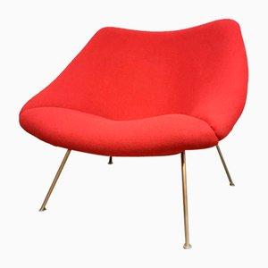 Dutch Oyster Ladies Model F157 Easy Chair by Pierre Paulin for Artifort