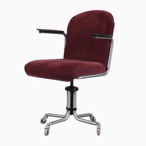 Desk Chair by W.H. Gispen for Gispen, 1950s