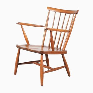Spokeback Chair by Cees Braakman for Pastoe, 1950s