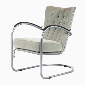 Model 412 Chair by W.H. Gispen for Gispen, the Netherlands, 1950s