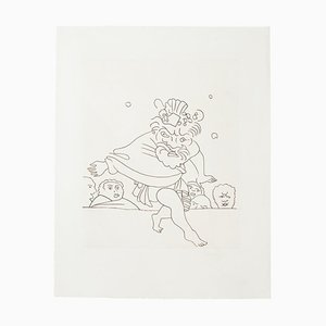 André Derain, Dance, Early 20th-Century, Etching