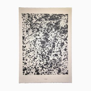 Jean Dubuffet, Désert from Theater of the Earth, 1959, Lithograph
