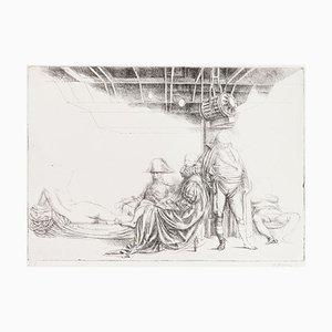 Riccardo Tommasi Ferroni, Napoleon, 1970er, Radierung