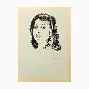 Portrait, Siebdruck, spätes 20. Jh