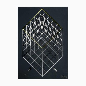 Lithographie, Fin XXe siècle, Composition